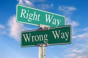 rightway wrongway