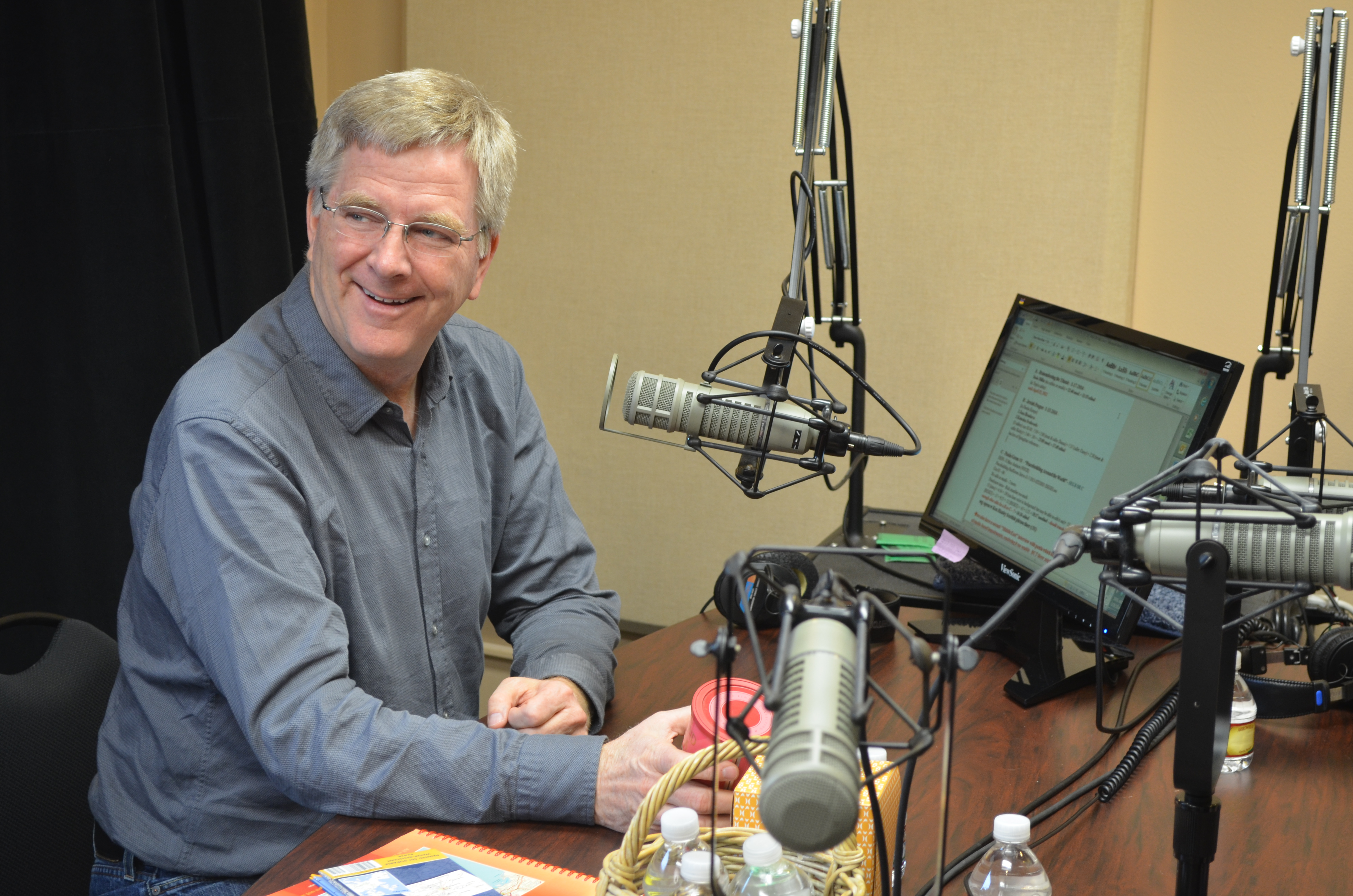 Travel Expert and BSW friend, Rick Steves